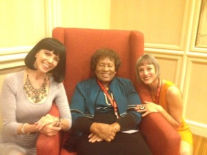 Cunning Minx, Dr. Jocelyn Elders, Lynn Comella at #ccon