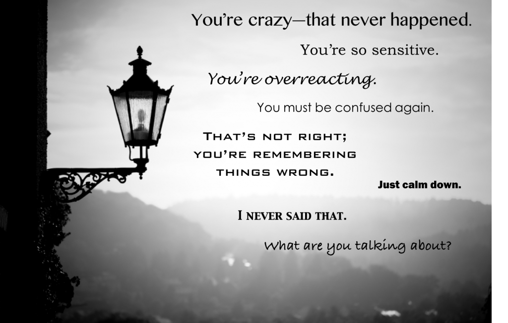 gaslighting with quotes