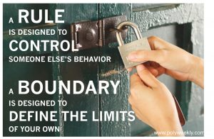 Rules vs boundaries by Cunning Minx