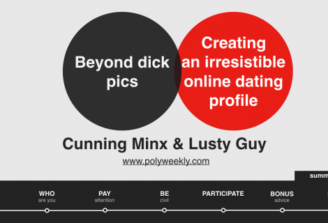 Beyond Dick Pics: Creating Your Online Dating Profile