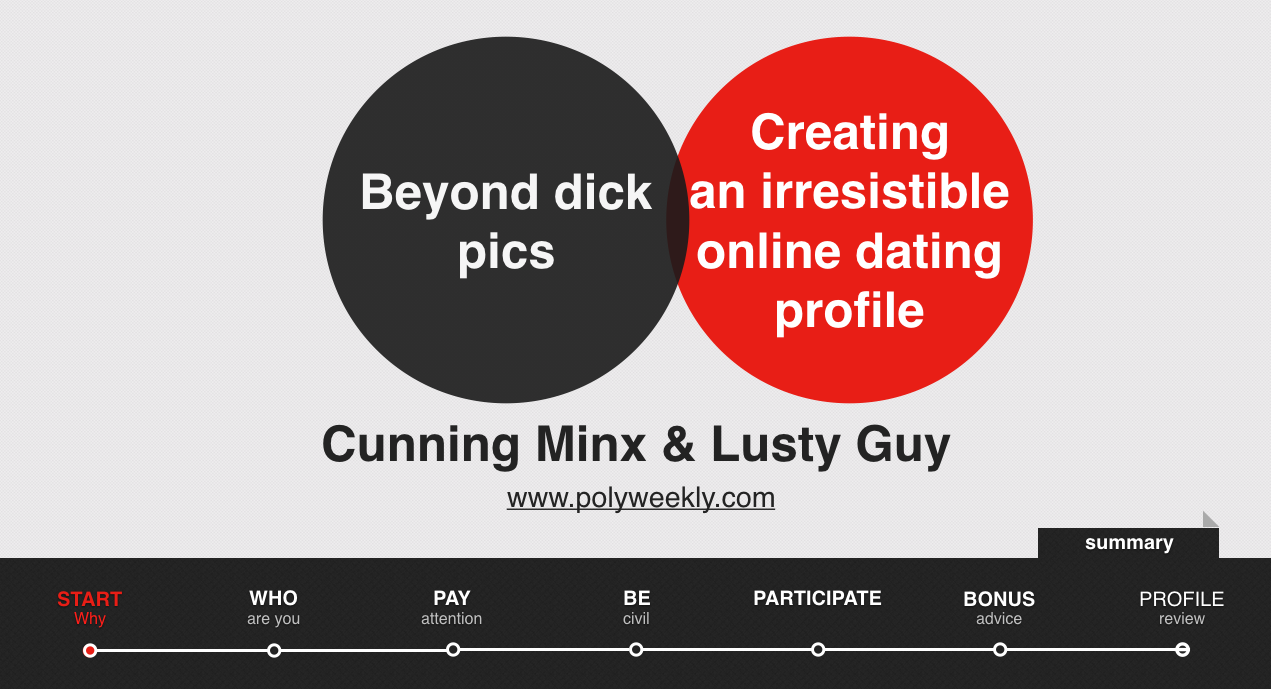 blog dating dummies things your online profile