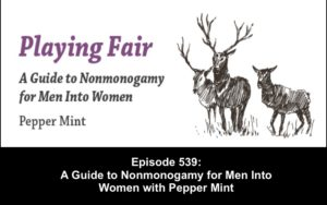 playing fair guide to nonmonogamy for men into women pepper mint